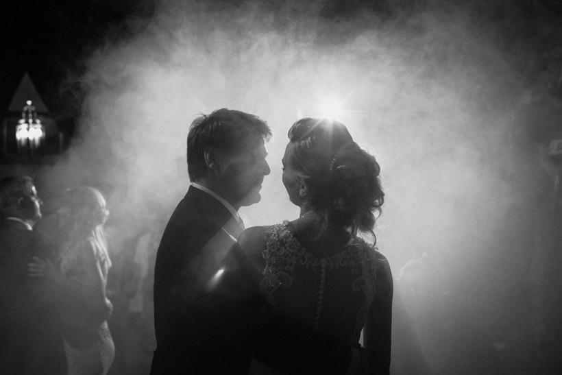 wedding couple dancing with emotions