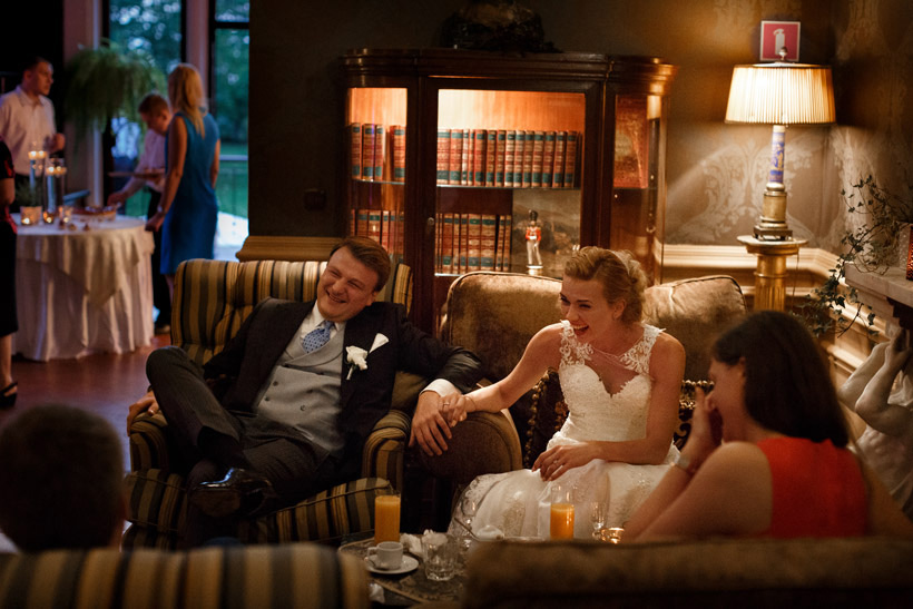 having fun at your own wedding