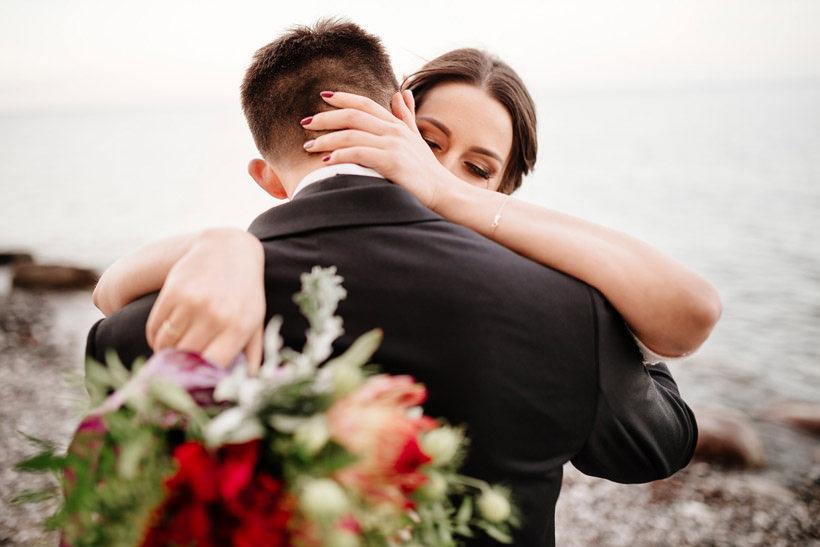 wedding ceremony at beach