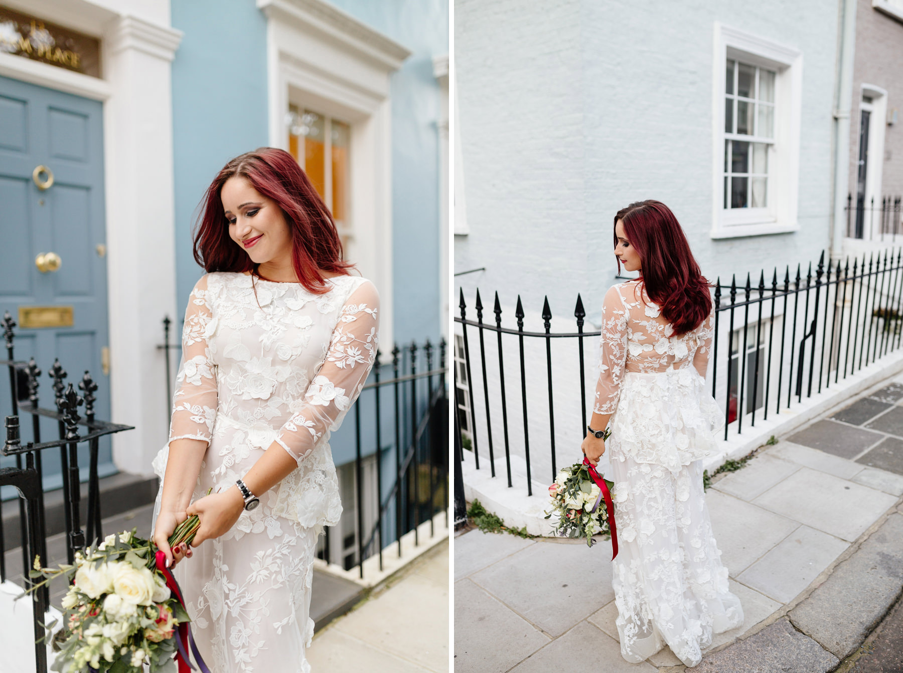bride portrait at notting hill