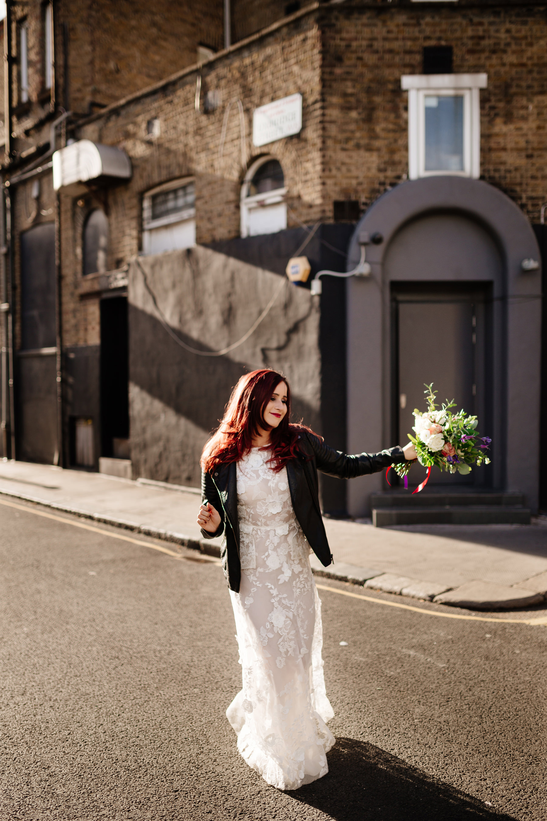 notting hill bride portrait