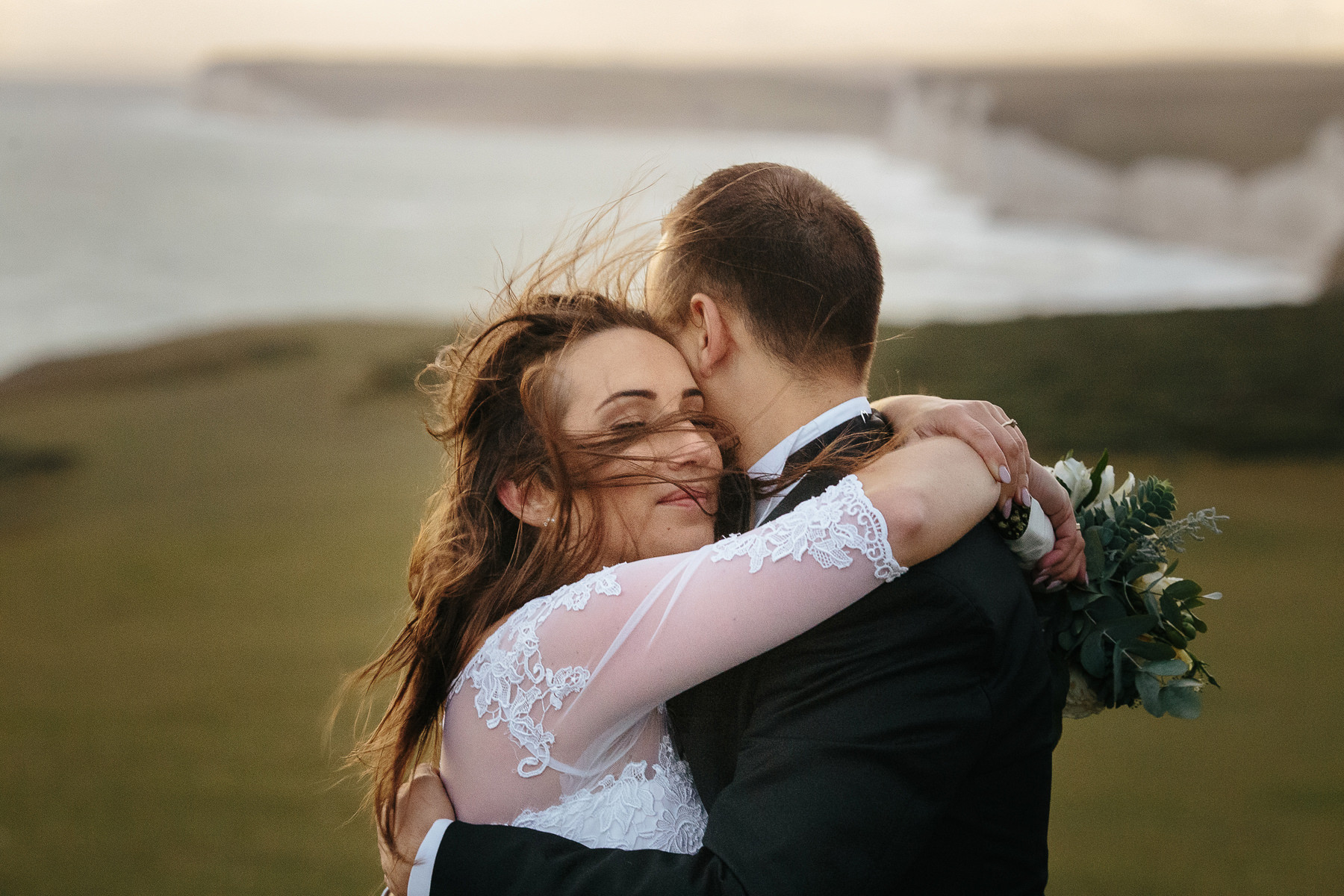 kate and tommy wedding photography seven sisters