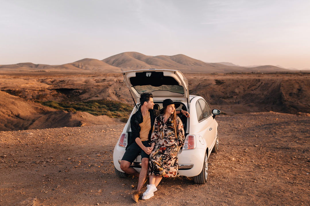 uk fuerteventura engagement, canary islands couple session