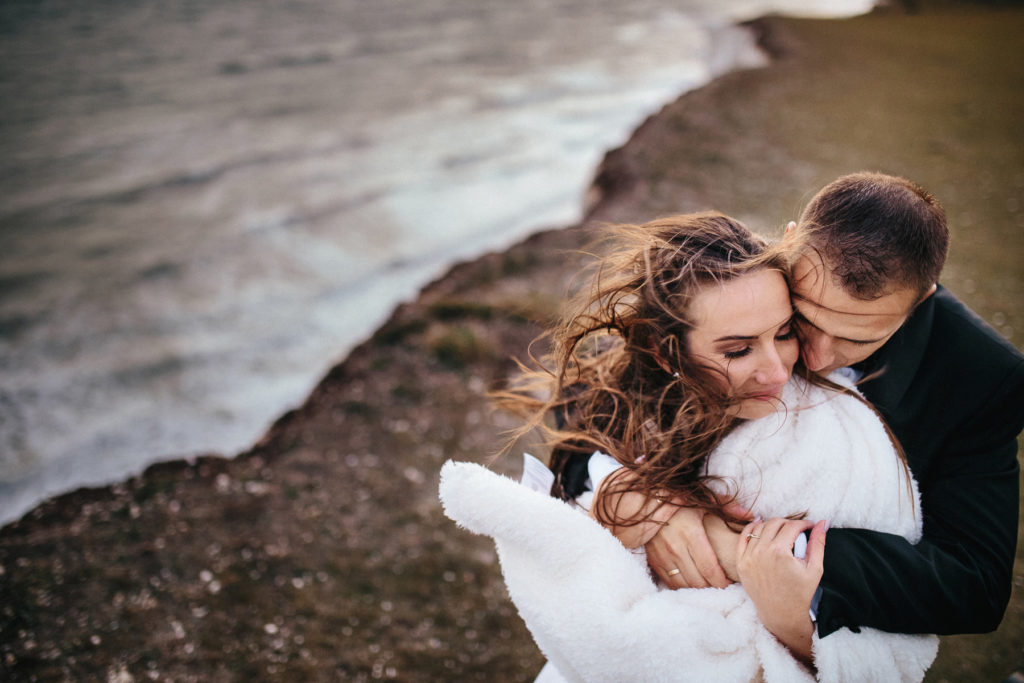 seven sisters cliffs wedding, eastbourne photographer