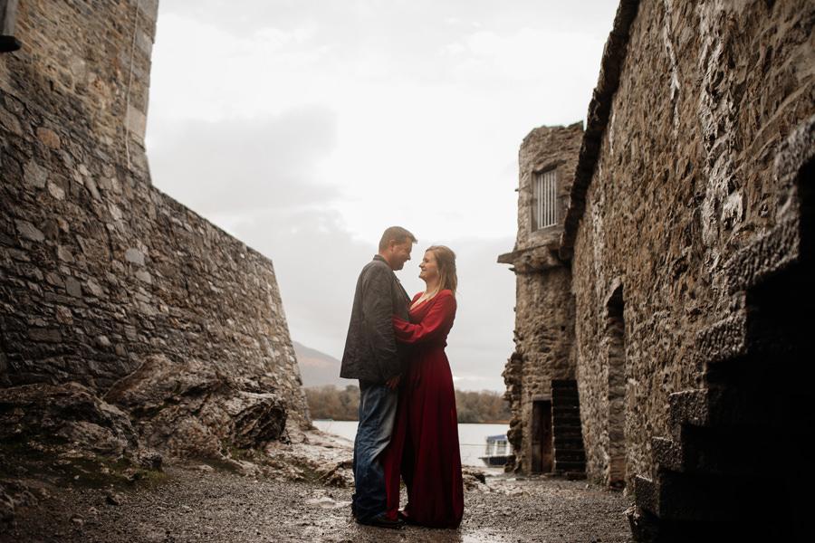 ross castle wedding, wedding photographer kerry ireland